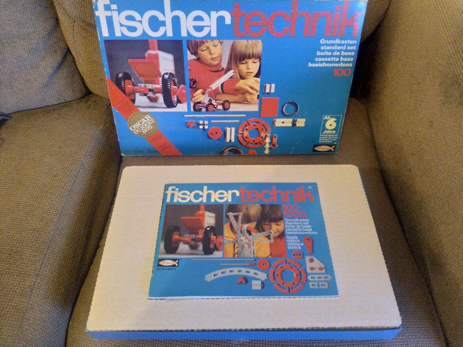 genuina alta calidad Fischer Technik conjunto conjunto conjunto estándar, 100 Piezas. buena muy buenas condiciones.  ahorrar en el despacho
