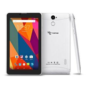 Yuntab Tablet PC 7 pulgadas Android, Desbloqueado PHABLET E706 con ranura para tarjeta SIM doble,
