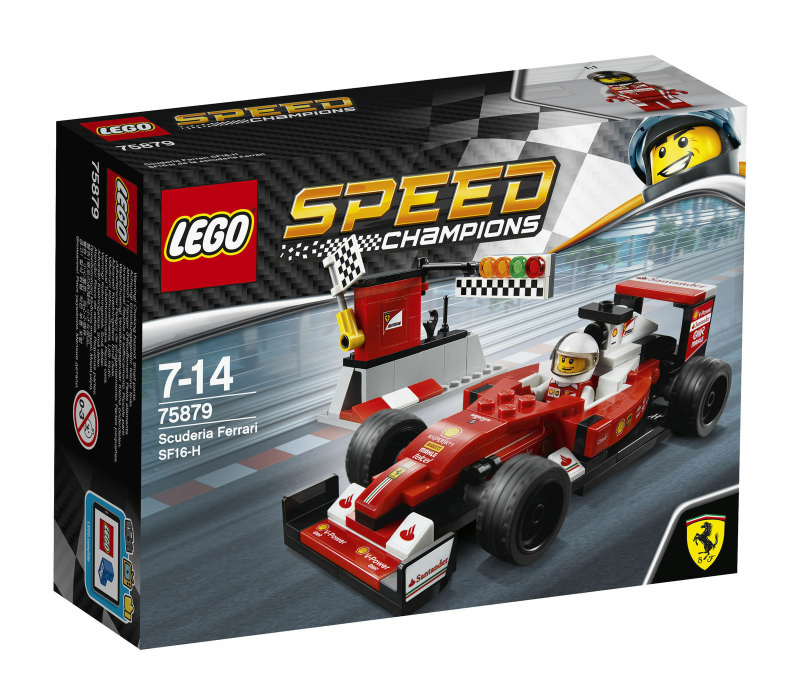 Lego Speed Champions 75879  Scuderia Ferrari SF16-H  Building Set