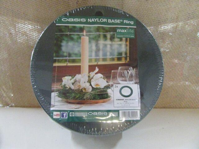 Ring 35 cm OASIS PROFI Steckmasse Steckschwamm Steckmoos Blumensteckmasse Kranz