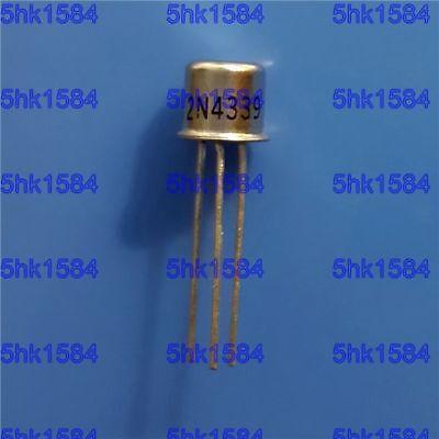 4PCS Transistor INTERSIL//VISHAY//SILICONIX TO-18 2N4338