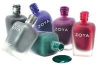 Zoya Fall 2014 Matte Velvet Collection Nail Polish Choose Your Colors