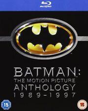 Batman: The Motion Picture Anthology 1989 - 1997 4er [Blu-ray] NEU DEUTSCH