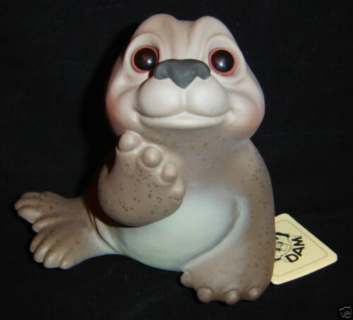 "SEAL Dam Troll Bank 6"" NEW Rare SPOTTED SEAL Denmark Germany PERFECT"