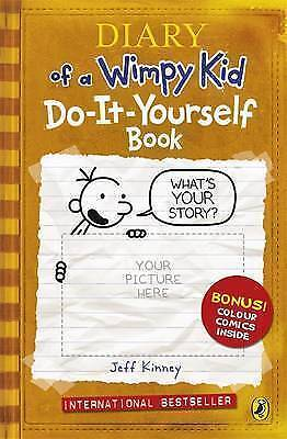 """1 of 1 - """"VERY GOOD"""" Diary of a Wimpy Kid: Do-It-Yourself Book, Kinney, Jeff, Book"""