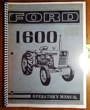 ford 1520 tractor owners manual