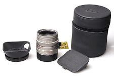 Leica Summilux-M 35mm F1.4 ASPH. E46 Titan Titane