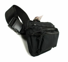Tactical FANNY PACK Waist Butt Concealed Carry Holster Gun Handgun Belt Lockable