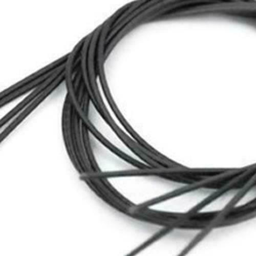 Black//Brown Nylon 4 Pieces.Attaches Snare Wires. Puresound Snare String MS4