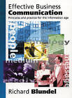 Effective Business Communication Instructor's Manual by Richard Blundel (Paperback, 1997)