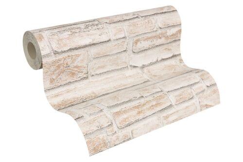 Dekora Natur Tapete AS Tapete 6621-25 662125 Steinmauer creme beige 2,80€//1qm
