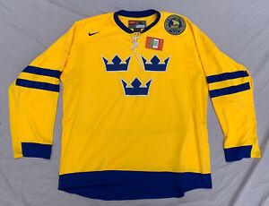 Nike Team Sweden Tre Kronor Crowns Hockey Jersey Sverige ...