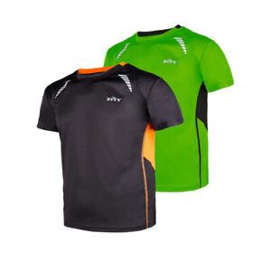 Mens-Gym-Sportswear-T-Shirt-Moisture-Wicking-Fitness-Training-Quick-Dry-Tee-Tops