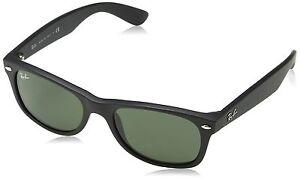 96b648e506 Ray-Ban RB2132 New Wayfarer Sunglasses 52 mm Black 805289421795 | eBay
