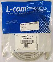 L-Com Premium USB Type A - B Cable, 5.0m (CSMUAB-5M) USB Cable Cables and Connectors