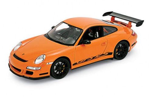 1 18 Welly PORSCHE 911 997 GT3 RS Orange