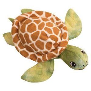 "SnugArooz SHELLDON THE TURTLE 10"" Plush Crinkle Squeaker Toy for Dogs Pups"