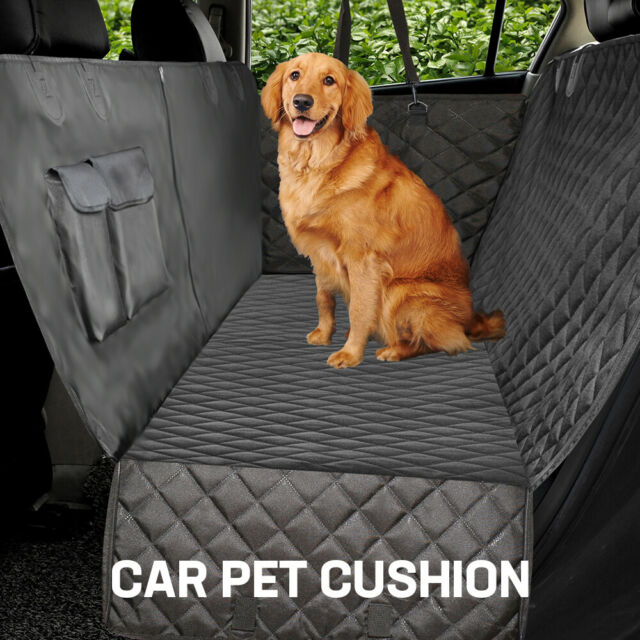 Premium Pet Cat Dog Back Car Seat Cover Hammock NonSlip Protector Mat &4 Gifts