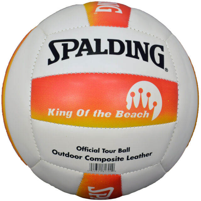 SPALDING VOLLEYBALL KING OF THE BEACH OFFICIAL TOUR BALL OUTDOOR