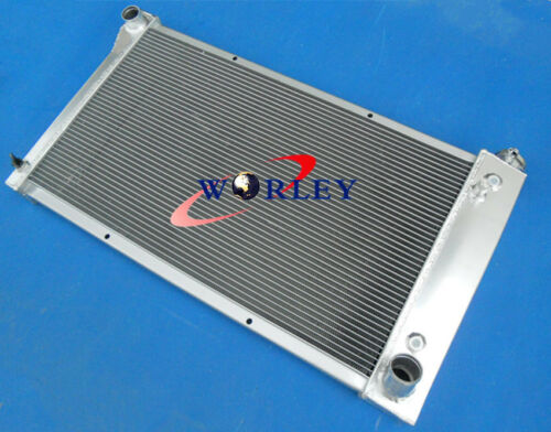 For 1967-1972 CHEVY C//K Series Pickup Trucks Aluminum Radiator 69 70 71 /& Fans