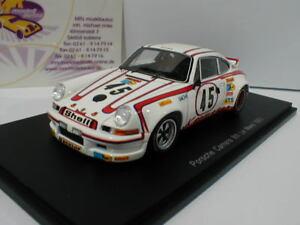 SPARK-s4688-Porsche-911-Carrera-RSR-n-45-8th-Le-Mans-1973-E-KREMER-1-43-Nouveau
