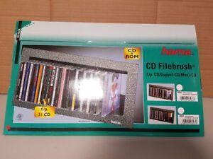Hama CD Filebrush CD-Aufbewahrung für 31 CD´s neu in silber schwarz ...