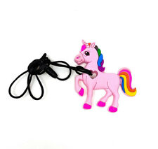 Pony Unicorn Sensory Teething Chew Silicone Necklace Pendant Autism BPA Free UK