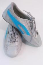 Taygra Brasil Silver & Light Blue Brazil Hallmark Shoes Size 36 Unisex