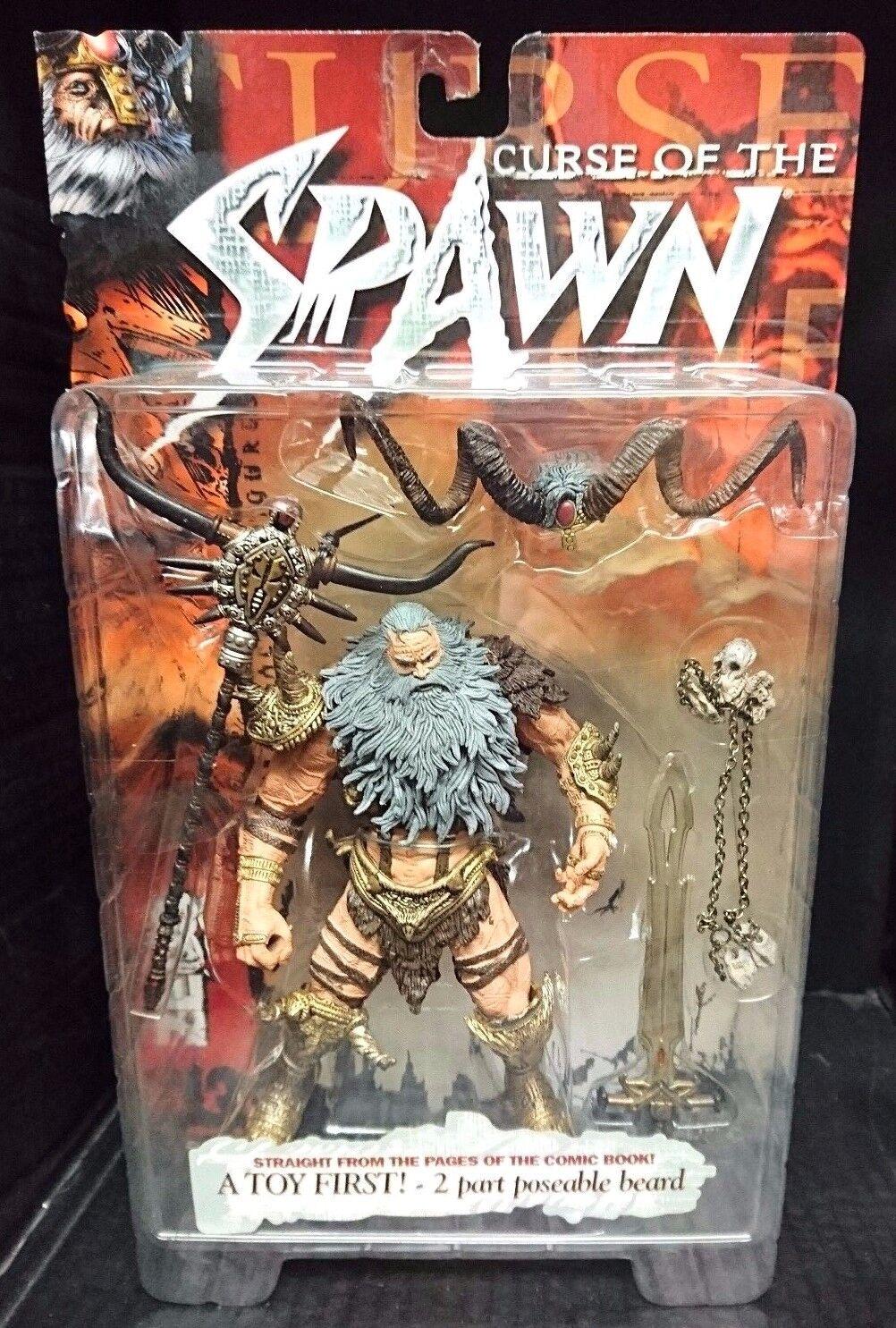 Spawn 13. Curse of the Spawn ZEUS. McFarlane Toys spawn  New  Rare