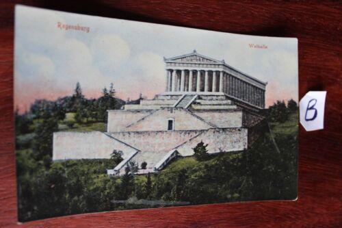 Postkarte Bayer Regensburg Walhalla
