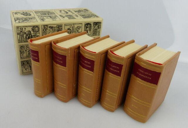 Minibuch: Das Dekameron des Giovanni Boccaccio sechster bis zehnter Tag bu0423