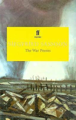 1 of 1 - The War Poems (FF Classics), Sassoon, Siegfried, New Book