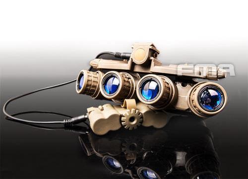 FMA Tactical Hunting GPNVG 18 DUMMY NVG Model Plastic L4G24 NVG Mount