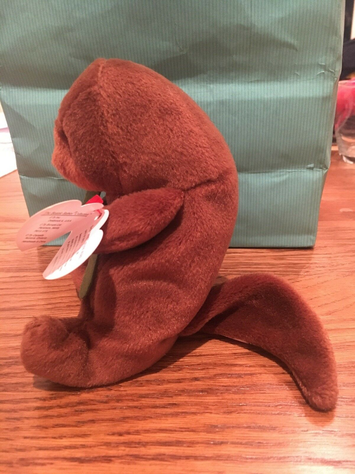 TY Beanie Babies Plush Seaweed The Otter 1995 Retired NEW NEW NEW Condition 9eb733