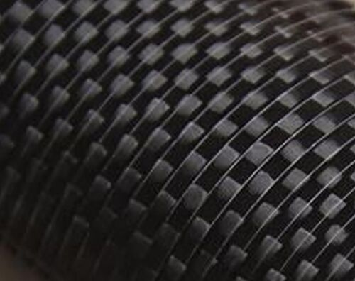 CF24-500 1x 24mm OD x 22mm ID x 500mm 3k Carbon Fibre Tube Roll-Wrapped