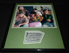 Dan Lauria Signed Framed 11x14 Photo Display Wonder Years