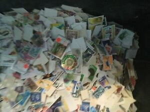 20000-world-stamps-great-mix-vintage-modern-with-GB-AND-COMMONWEALTH-off-paper