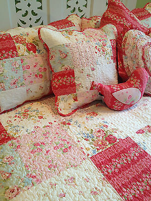 Linens n Things Emma Single Bedspread Coverlet Set Shabby Chic