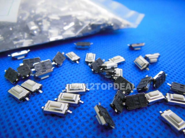 SMD Tactile Push Button Switch Momentary Tact 3x6x2.5mm 2pin ROHS 100pcs