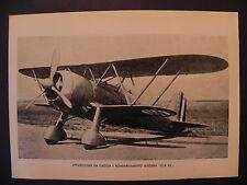 Aviazione Regia Aereonautica aereo guerra Fiat CR 42 falco biplano fighting