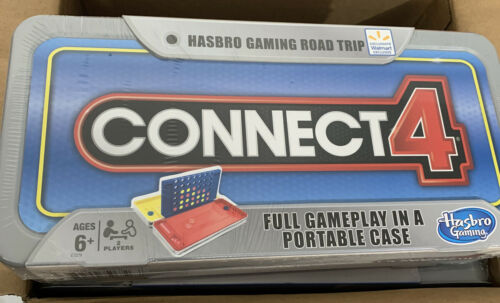 Hasbro Connect 4  Gaming Road Trip Full Game In  Portable Case