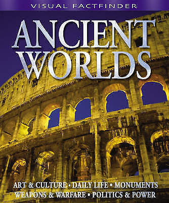 1 of 1 - Visual Factfinder - Ancient Worlds by Miles Kelly Publishing Ltd (Paperback, 200