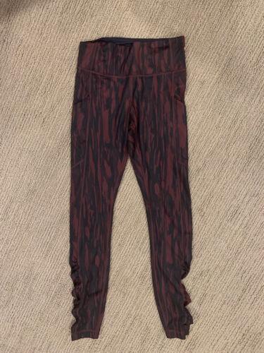 Lululemon Speed Tight IV Leggings Pants Painted An