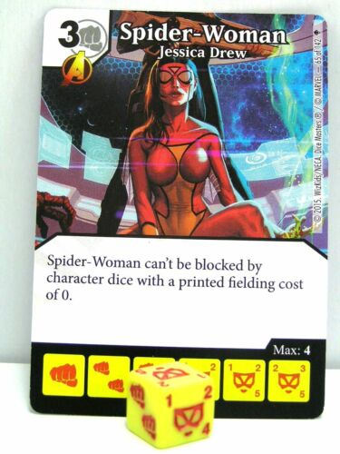 #065 Spider-Woman Jessica Drew Age of Ultron Marvel Dice Masters