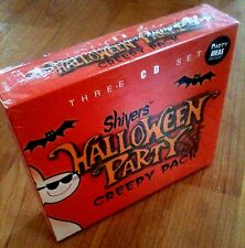 Shivers HALLOWEEN PARTY: CREEPY PACK: MUSIC, SOUNDS & STORIES (3-CD BOX SET) NEW