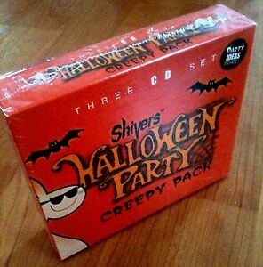 Shivers HALLOWEEN PARTY: CREEPY PACK: MUSIC, SOUNDS & STORIES (3 ...