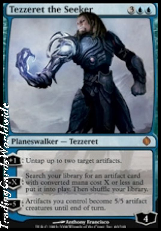 Tezzeret the Seeker    Foil    NM    Shards of Alara    engl.    Magic Gathering