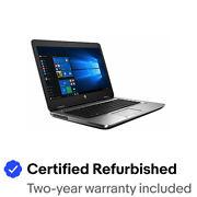 "HP ProBook 640 G2 Business Laptop 14"" FHD i5-6300U 16GB 512GB SSD Webcam Win10Pr"