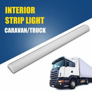 LED-Striscia-Di-Luce-Interno-Bar-Auto-Van-Bus-Caravan-Interruttore-Bianca-Nuovo