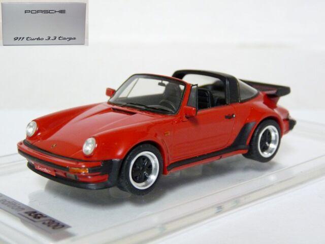 EMC WAP02061017 1/43 1988 Porsche 911 Turbo 3.3 Targa Handmade Resin Model Car